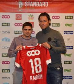 Ce spune Razvan Marin, dupa transferul la Standard Liege
