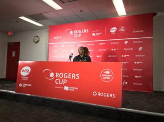 """Ce spune Serena Williams despre finala de la Rogers Cup: """"Recunosc ca factorul Bianca a devenit contagios"""""""