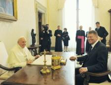 Ce spune Vaticanul despre discutiile dintre papa Francisc si Klaus Iohannis