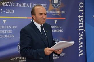 Ce spune ministrul Toader despre raportul Inspectiei Judiciare la DNA si contestatiile la Legile Justitiei
