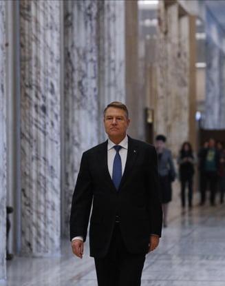 Ce spune presedintele Iohannis despre huiduielile de la Iasi