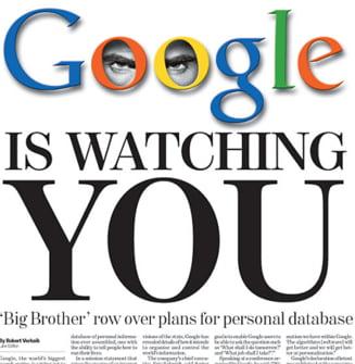 Ce stie Google despre tine? Totul!