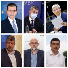 Ce studii au sefii principalelor partide din Romania si care a fost primul lor loc de munca
