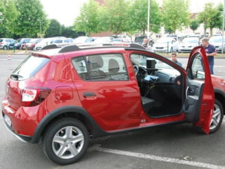 Ce surpriza: Francezii au transformat Dacia Sandero Stepway in radar mobil