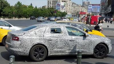 Ce surpriza: Renault testeaza un model nou in Romania (Foto-spion)