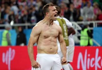 Ce suspendare ar urma sa primeasca starurile Elvetiei, dupa gestul controversat din victoria cu Serbia - presa