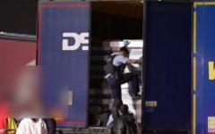 Ce transporta un sofer de TIR roman fara sa stie. Socul avut de acesta cand a fost oprit in Germania