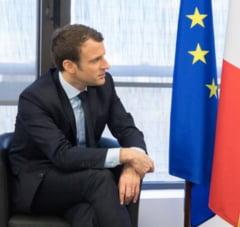 Ce urmeaza pentru Macron: Preluare de putere la Arcul de Triumf si o vizita la Merkel