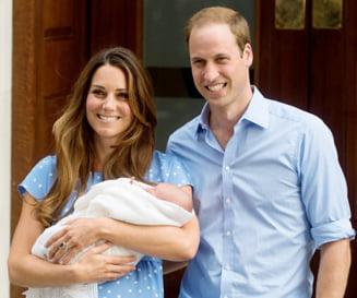 Ce urmeaza pentru bebelusul regal - botezul si nasii