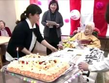 Cea mai in varsta persoana din lume a sarbatorit implinirea a 117 ani cu o petrecere si tort (Video)