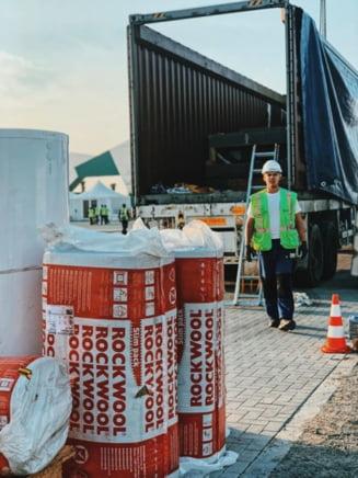 Cea mai mare fabrica de vata minerala bazaltica din Romania se deschide langa Ploiesti, proiect este la peste 50 milioane euro