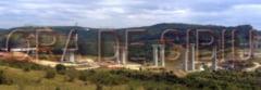 Cea mai mare grinda din tara montata pe cel mai mare viaduct din Romania, la Aciliu