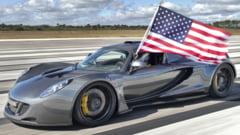 Cea mai rapida masina din SUA: Hennessey Performance Venom GT