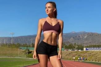 Cea mai sexy atletă a dat lovitura în modelling. Fotbaliștii Borussiei Dortmund s-au antrenat cu ea! FOTO