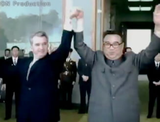 Ceausescu in Coreea de Nord - imagini incredibile (Video)