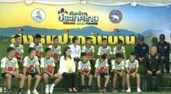 Cei 12 baieti salvati din pestera din Thailanda au vorbit despre experienta prin care au trecut: A fost un miracol! (Video)