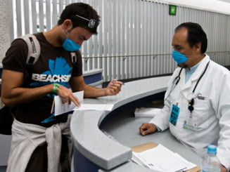 Cei 5.000 de candidati la rezidentiat vor purta masti contra gripei porcine