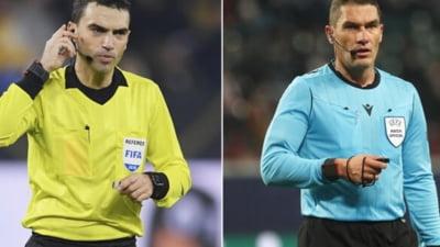 """Cei mai buni arbitri din Romania au fost trimisi la """"scoala"""". Delegari exotice pentru Hategan si Kovacs. Care e motivul"""