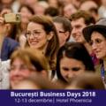 Cei mai cunoscuti oameni de business si programul 1NSPIRING vin la Bucuresti Business Days 2018