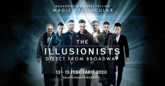 Cei mai mari iluzionisti din lume vin in premiera la Bucuresti: The Illusionists, in februarie, la Sala Polivalenta