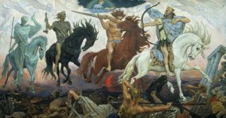 Cei patru calareti ai Apocalipsei: Ce poate aduce sfarsitul Europei?