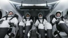 Cei patru turiști spațiali ai companiei SpaceX au fost recuperați după un zbor de 3 zile în jurul Pământului VIDEO