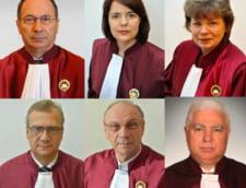 Cei sase judecatori CCR care au votat subordonarea procurorilor sistemului politic