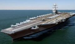 Cel mai avansat portavion din lume lansat de SUA (Video)