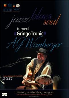 Cel mai bun interpret de blues al Romaniei concerteaza la Sibiu