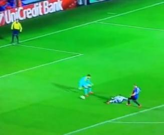 Cel mai ciudat gol din Europa League (Video)