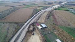 Cel mai lungi tronson al A10 Sebes-Turda, departe de finalizare FOTO/VIDEO