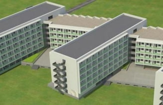 Cel mai mare camin studentesc executat de CNI va fi construit la Timisoara