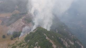 Cel mai mare parc national al Romaniei arde de trei zile (Foto&Video)