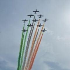 Cel mai mare show aerian din Romania, in weekend