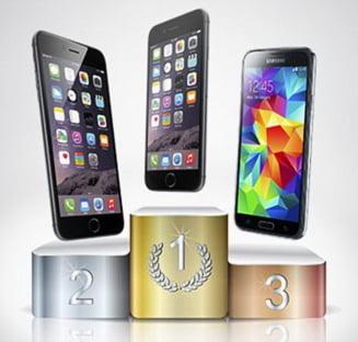 Cel mai rapid smartphone din lume: iPhone 6, Galaxy S5 sau HTC One? (Video)