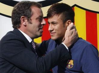 Cel mai scandalos transfer din istoria Barcelonei: Neymar il trimite in puscarie pe Rosell