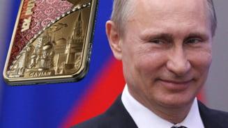 Cel mai scump iPhone din lume va fi unul din aur inchinat lui Putin