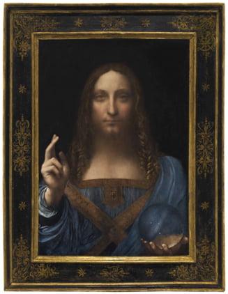 Cel mai scump tablou din lume: Un miliardar rus a vandut un da Vinci cu 450 de milioane de dolari