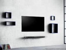 Cel mai subtire televizor din lume are grosimea unui smartphone