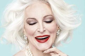 Cel mai varstnic model din lume are 81 de ani si inca profeseaza (Galerie foto)