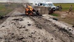 Cel putin 12 oameni au murit in Siria dupa doua atentate cu masini-capcana