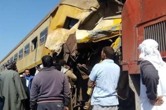 Cel putin 15 persoane au murit in urma unui accident feroviar in Egipt