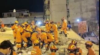 Cel putin trei persoane au murit in China dupa prabusirea unei cladiri VIDEO