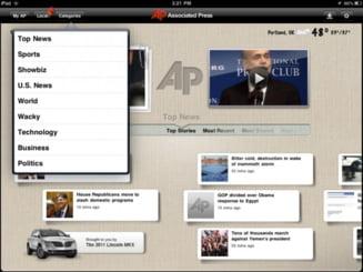Cele mai eficiente aplicatii mass-media pentru iPad