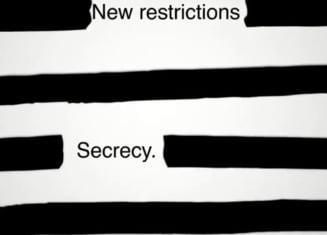 Cele mai importante ziare rivale, unite in protest fata de cenzura presei: Chenar negru pe prima pagina