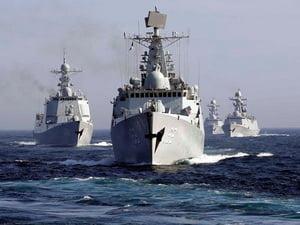 Cele mai mari exercitii militare Rusia-China din istorie