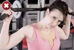 Cele mai nepotrivite exercitii fizice