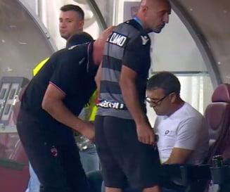Cele mai noi detalii despre starea lui Neagoe: Iata cum se simte antrenorul lui Dinamo dupa infarctul suferit in timpul meciului