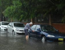 Cele mai puternice ploi din ultimii 30 de ani in Sydney: au produs inundatii, dar macar au stins incendiile