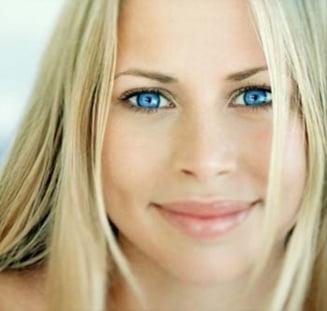 Cele mai reusite machiaje pentru ochi albastri (Galerie foto)